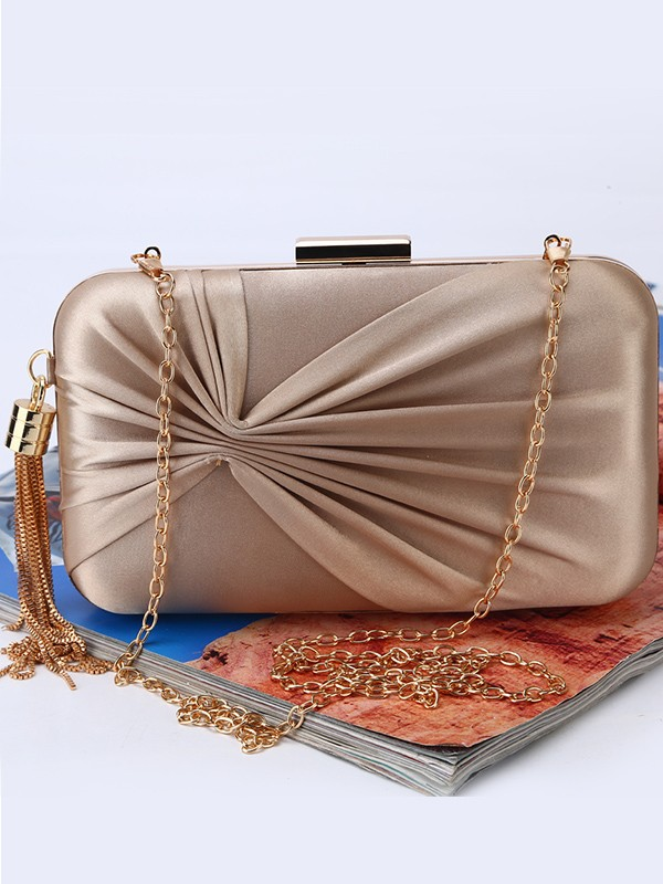 Fashion Ruched Wedding/Party Handbags