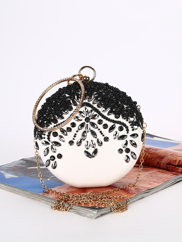 New Satin Beading Evening/Party Handbags