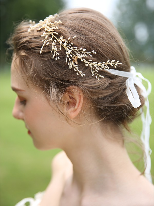 Unique Resin Bridal Headpieces