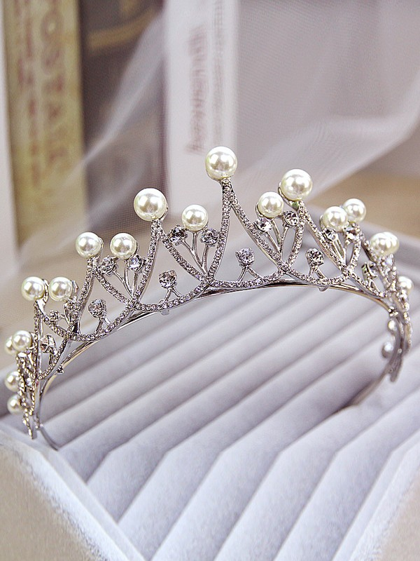 Simple Alloy Wedding Headpieces