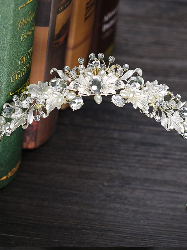 Amazing Czech Alloy Wedding Headpieces